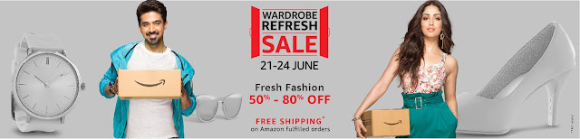 Wardrobe Refresh Sale Amazon India