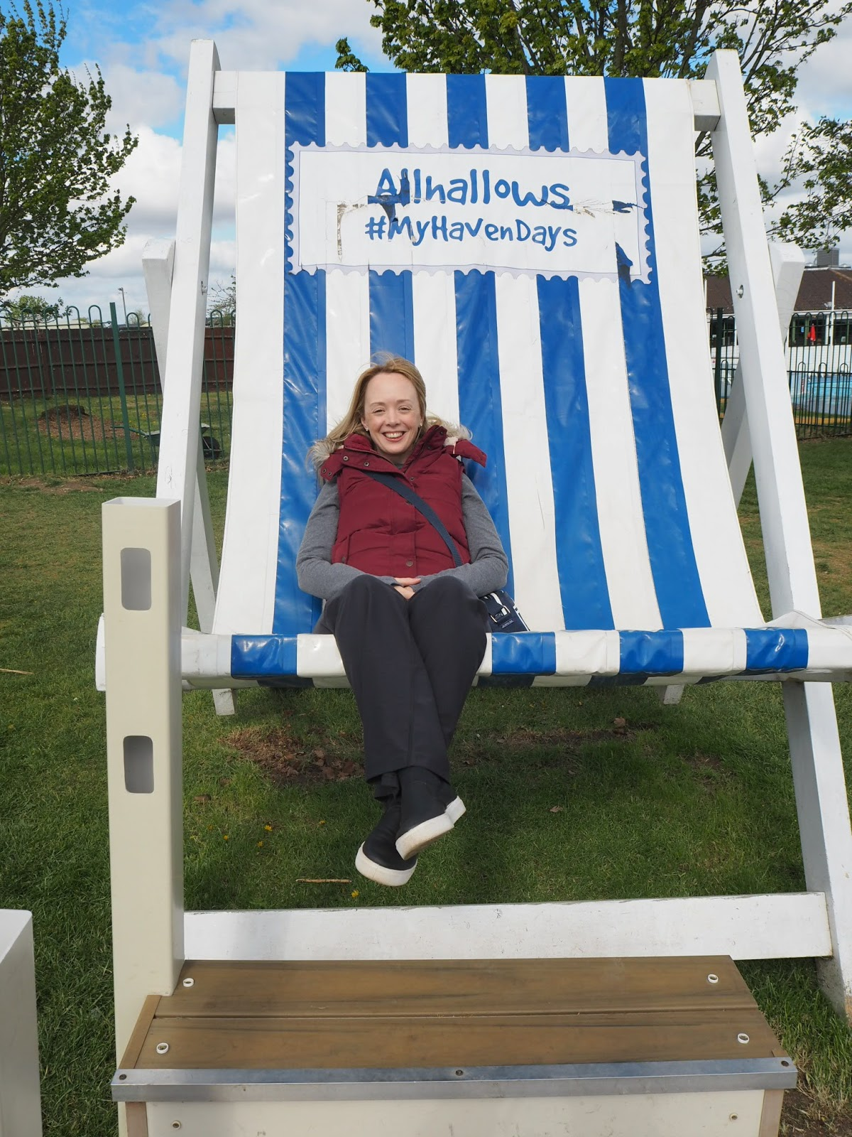 Haven Allhallows deckchair the best version of kelly