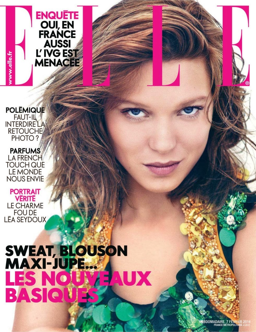 Lea Seydoux HQ Pictures Elle France Magazine Photoshoot
