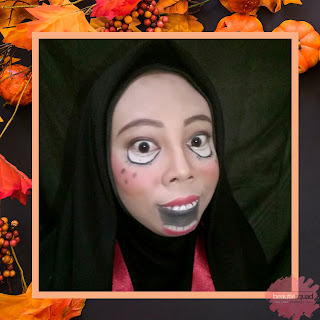 [BEAUTIESQUAD COLLAB] SIMPLE HALLOWEEN MAKEUP-CREEPY DOLL