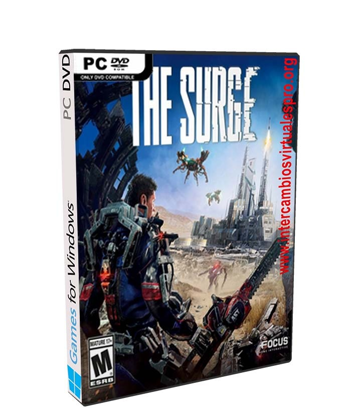 The Surge poster box cover