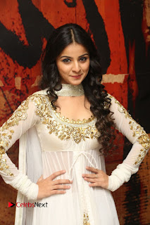Telugu Actress Mahima Makwana Stills in White Desginer Dress at Venkatapuram Movie Logo Launch  0038.JPG