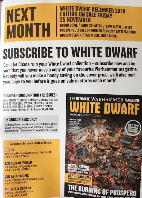 White Dwarf noviembre