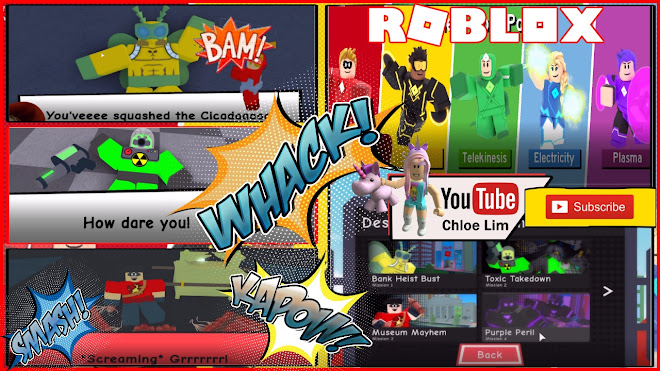 Roblox Heroes of Robloxia Gameplay! UNIVERSE EVENT Mission 1 to 4 warning LOUD SCREAMS! Stay Tune for Part 2 MISSION 5!