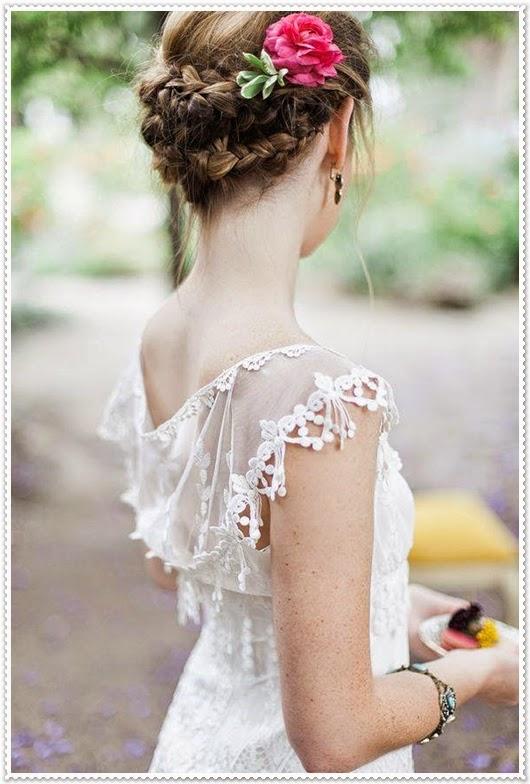 Frühjahr/Sommer Brautfrisuren 2015
