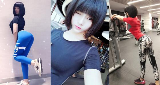 Foto Hot! Gao Qian, Gadis 19 Tahun Yang Menangkan Kontes Bokong Terindah
