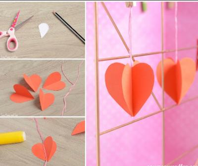 11 Tutorial Membuat Hiasan Dinding Dari Kertas Mudah Sederhana Dan Tidak Menguras Kantong 11