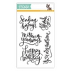 Simon Says Clear Stamps BIG SCRIPTY GREETINGS