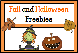 Fall and Halloween Freebies