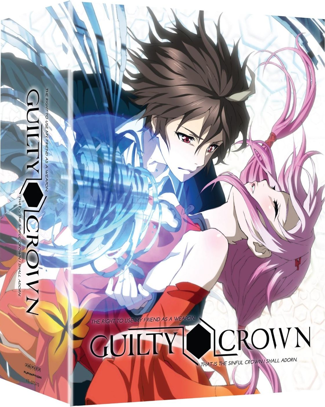 GUILTY CROWN [22/22+OVA+ESPE] [SUB ESPAÑOL] [MEGA]
