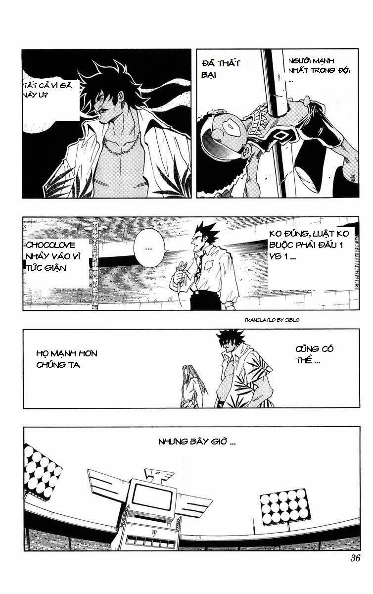 Shaman King [Vua pháp thuật] chap 226 trang 9