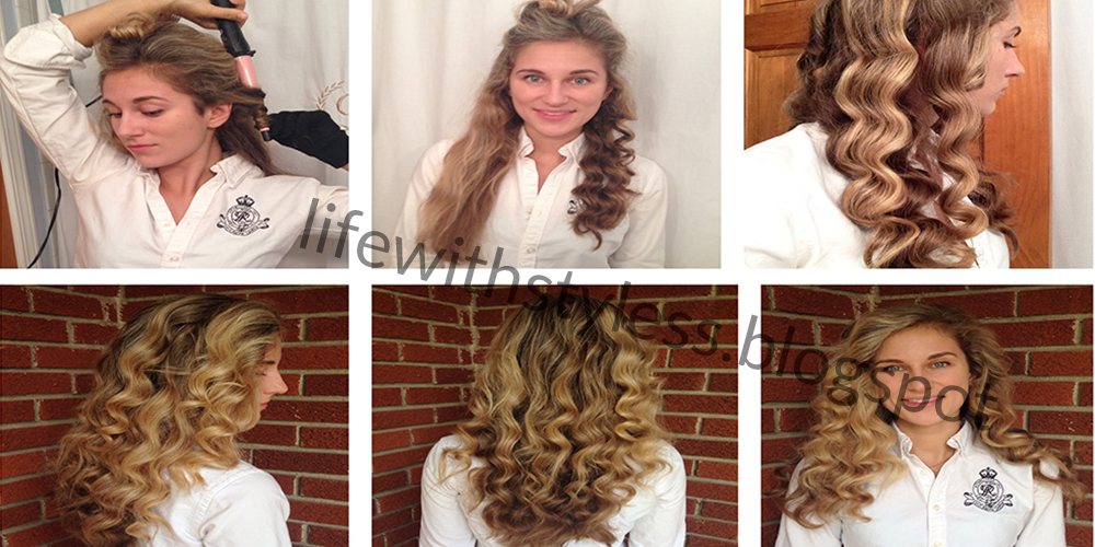 How To Do Curl Your Hair Two Different Ways Using Conical Hair
