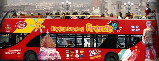 Sobre o passeio de ônibus turístico em Florença