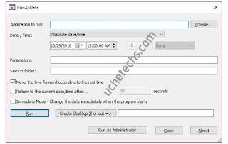 Runasdate - Trial software forever
