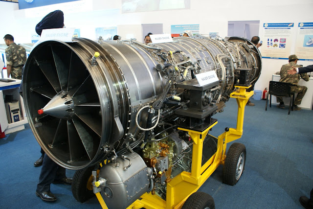 Image Attribute: GTRE GTX-35VS Kaveri Jet Engine