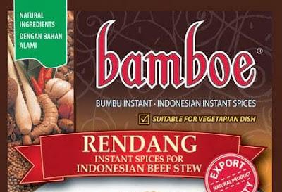Rendang Daging Bamboe ala Rani