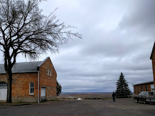 prairie view from Assumption Abbey, Richardton, ND