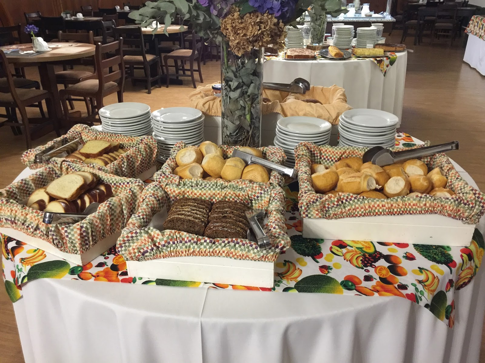 Café da manhã do Grande Hotel Canela