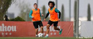 Nuevo entrenamiento con el Bayern en la mira
