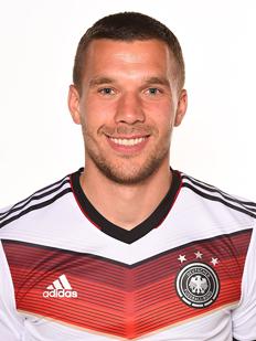 Lukas Podolski Forward  10. Miroslav Klose Forward  11. Ron-Robert Zieler  Goalkeeper  12. Thomas Müller Forward  13. Julian Draxler Midfielder  14 5f82e5712daa4
