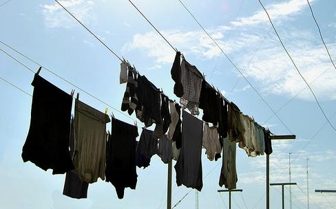 Azotea, ropa