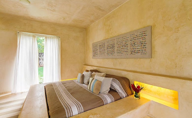 dormitorio minimalista de verano chicanddeco