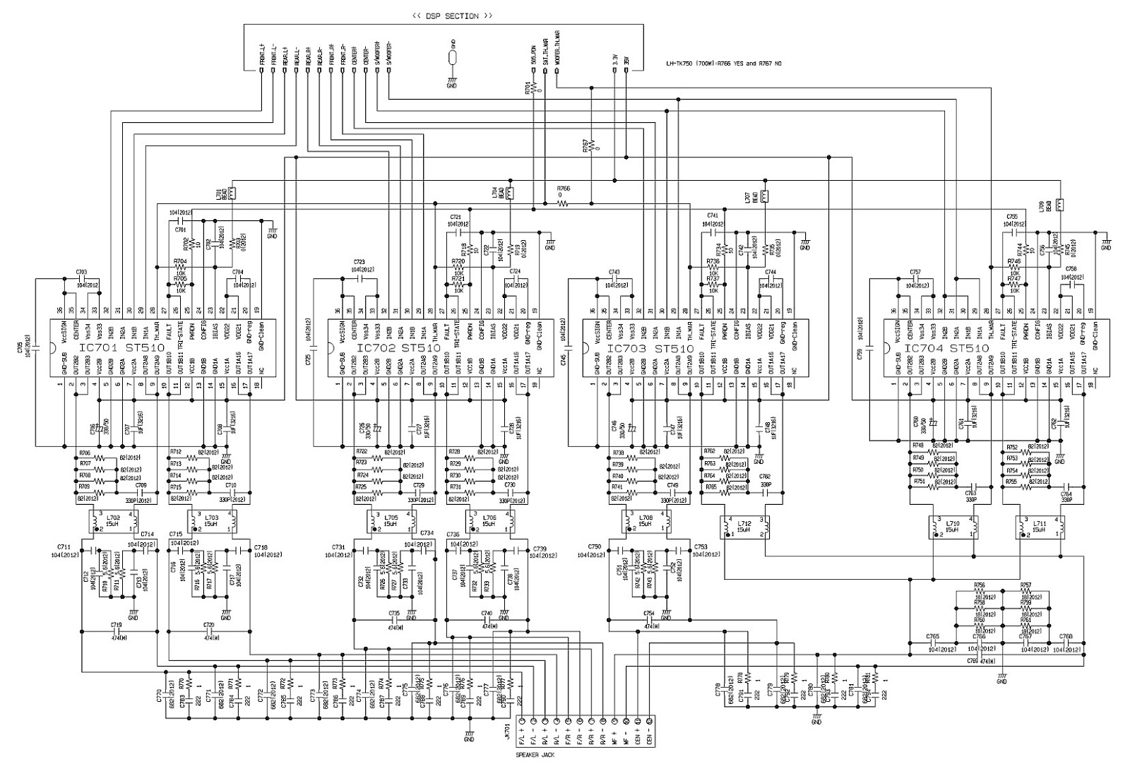 Lg Lh T550 Xh Tk750 Dvd Cd Amp Karaoke Receiver Circuit