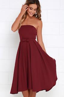 strapless midi dress coupon codes