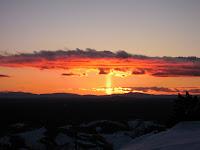 Pillar at Sunset