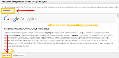 Cara Memasang Google Analytics Blogspot