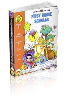 School Zone – First Grade Scholar (Grade 1). Super Deluxe (Ages 5-6) (1997)