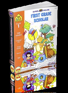 School Zone – First Grade Scholar (Grade 1). Super Deluxe (Ages 5-6) (1997)