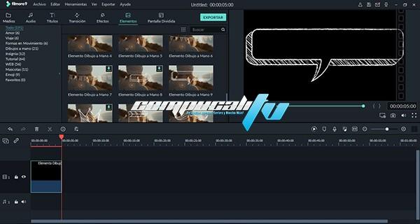 Wondershare Filmora Versión Full Español