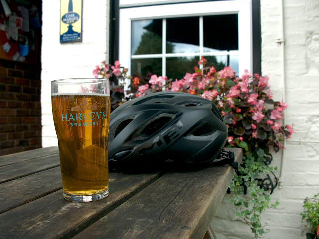 harvey's beer wild hop blonde cycling bricklayers arms chipstead