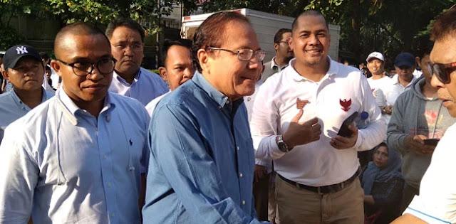 Rizal Ramli Ikut Merapat Ke Rumah Prabowo