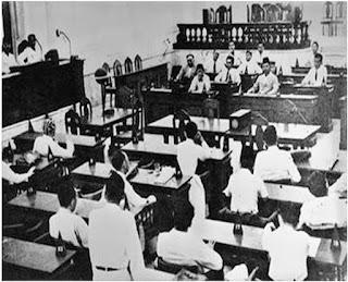 PPKI atau panitia persiapan kemerdekaan Indonesia  Hasil Sidang PPKI 1, 2, 3 (Tanggal 18, 19, 22 Agustus 1945)