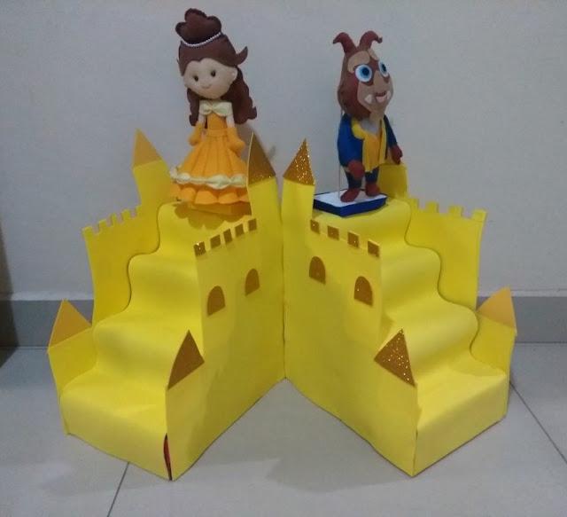 castelo de caixa de leite, castelo a bela e a fera, castelo eva, escada de caixa de leite, escadinha de caixa de leite
