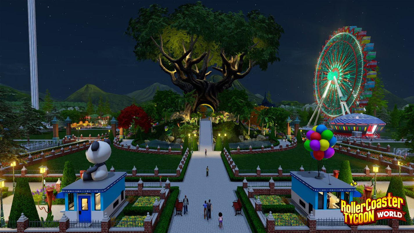rollercoaster tycoon world free download pc