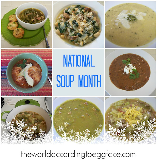 Eggface%2BNational%2BSoup%2BMonth%2BRecipes Weight Loss Recipes Eggface 2016   The Blog Year in Review
