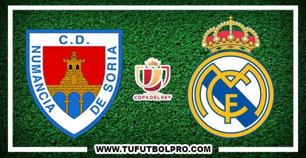 Ver Numancia vs Real Madrid EN VIVO Por Internet Hoy 4 de Enero de 2018