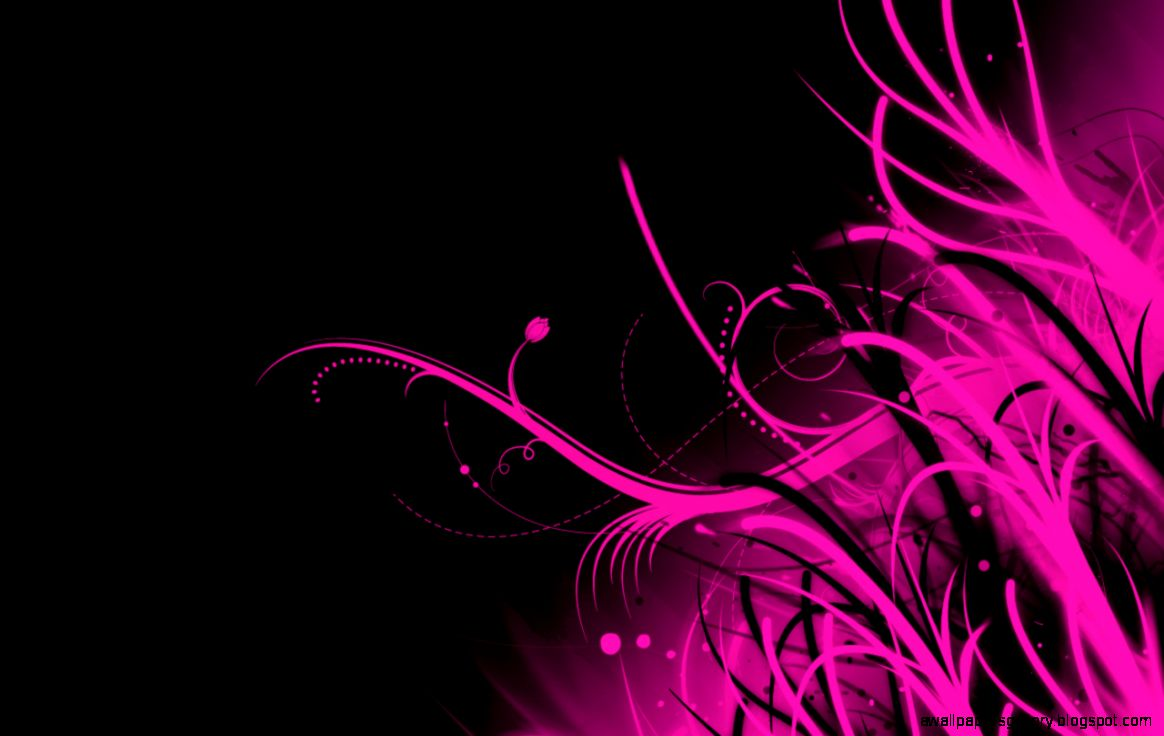 Black And Pink Abstract Wallpaper | Wallpapers Gallery
