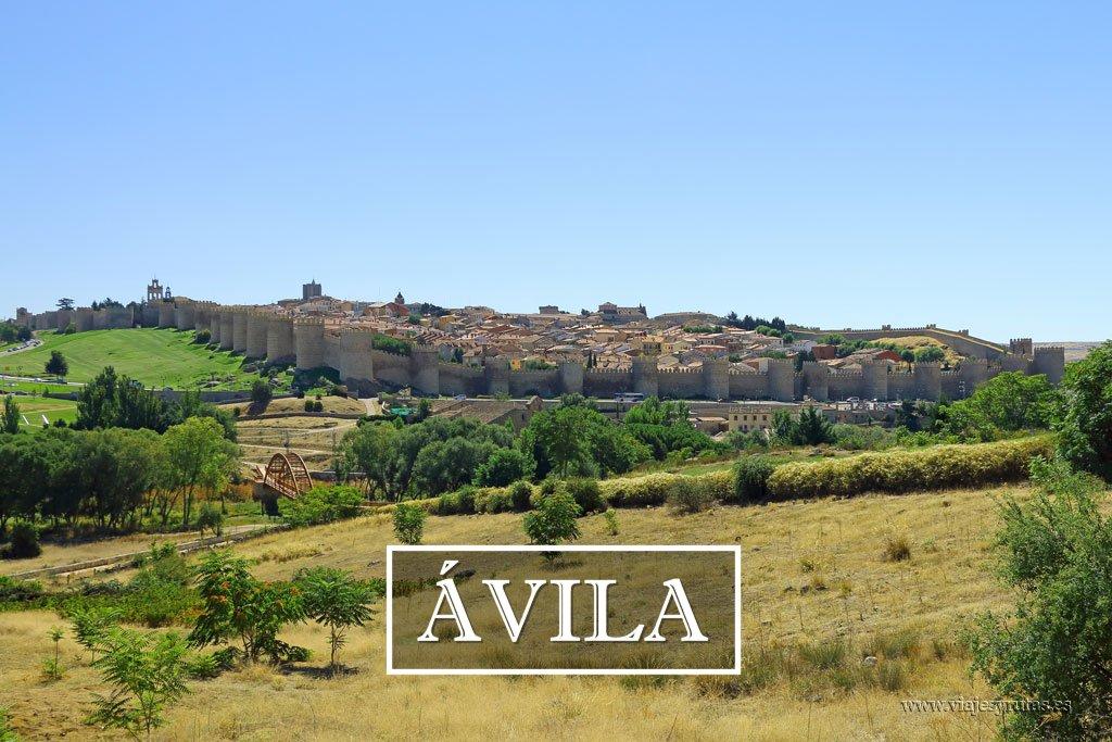 De turismo por Ávila, ciudad amurallada