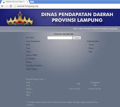 Halaman Muka samsat-lampung.org