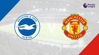 Susunan Pemain Brighton & Hove Albion vs Manchester United