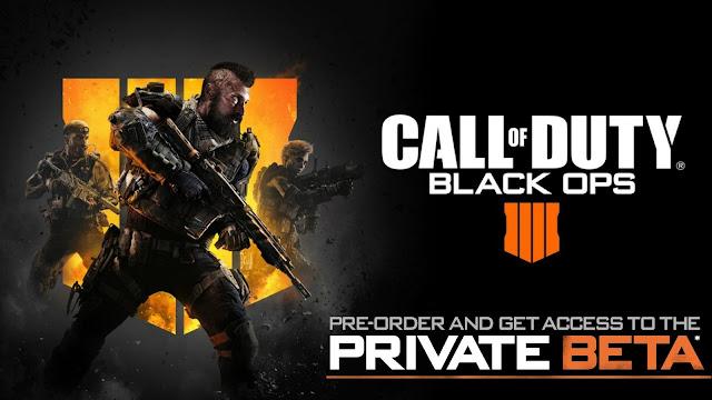 رسميا إنطلاق التحميل المسبق لنسخة البيتا من لعبة Call of Duty: Black Ops 4 و هذا حجمها النهائي ..