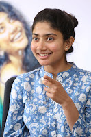 Sai Pallavi looks super cute in plain dress at her interview in Telugu about movie Fidaa ~ Exclusive Celebrities Galleries 045.JPG
