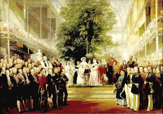 Uno de mayo de 1851. La reina Victoria y el príncipe Alberto inauguración la Gran Exhibición