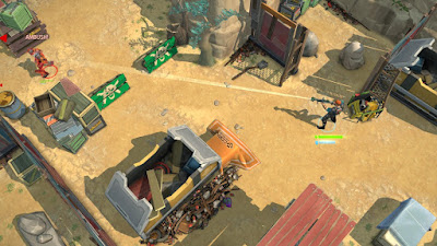 Tampilan Game Space Marshals 2