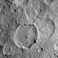 Inamahari Crater, Ceres