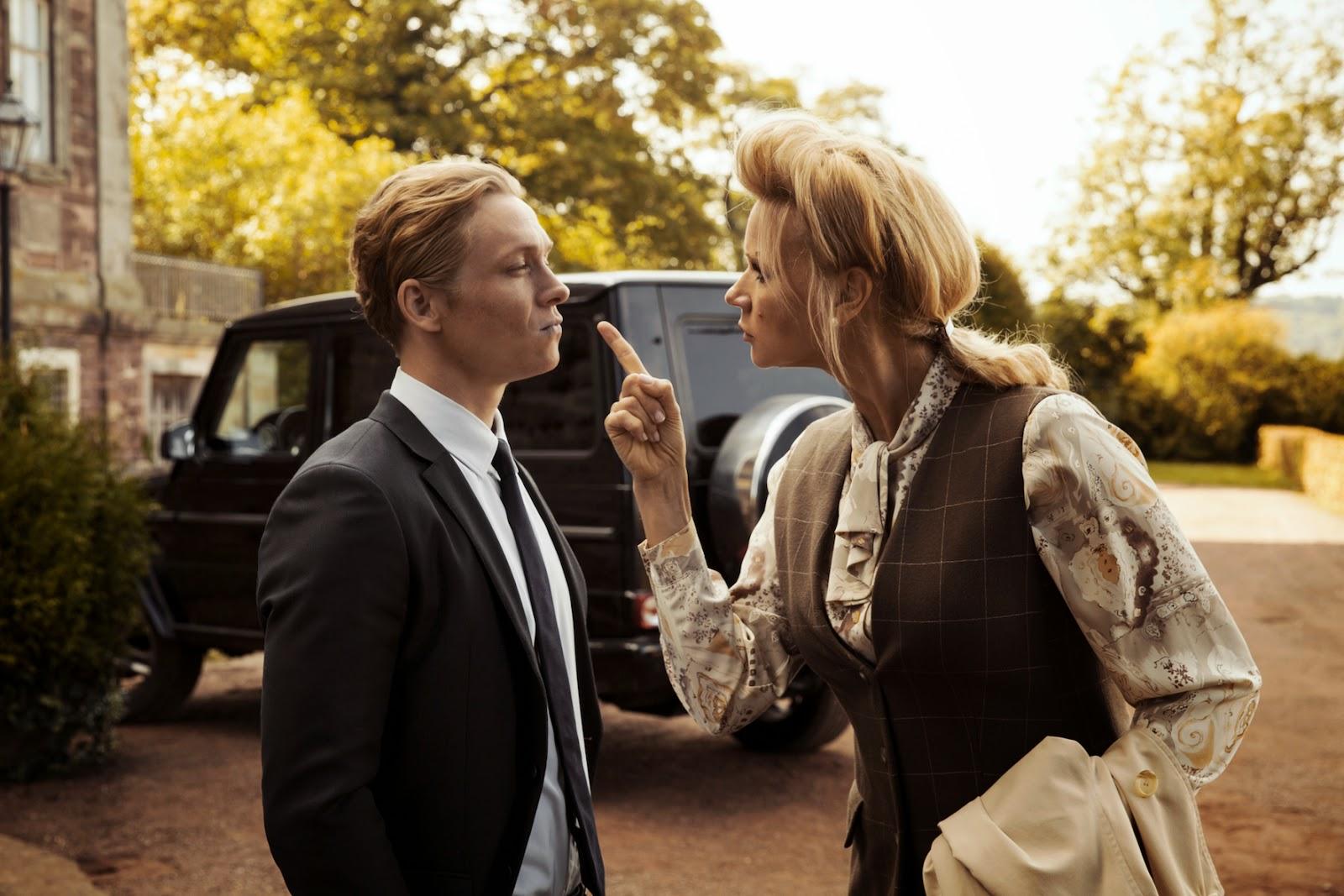 Matthias Schweighöfer Und Veronika Ferres In Der Nanny Foto Mercedes Benz